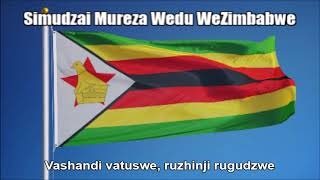 Zimbabwean National Anthem (Simudzai Mureza Wedu WeZimbabwe) - Nightcore Style With Lyrics