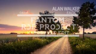Alan Walker - Faded (FanTom & RJF Project) (Hardstyle Edit)