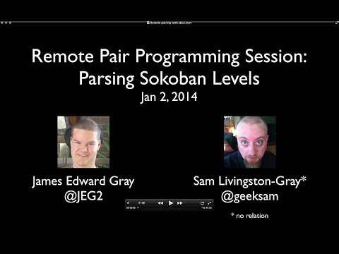 Remote Pair Programming Session: Parsing Sokoban Levels Mp3