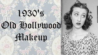 1930s Old Hollywood Makeup