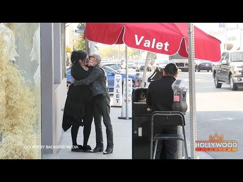 Pregnant Kat Von Dee Awkward Kiss