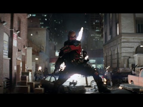 BATTLE ON THE STREET   Suicide Squad