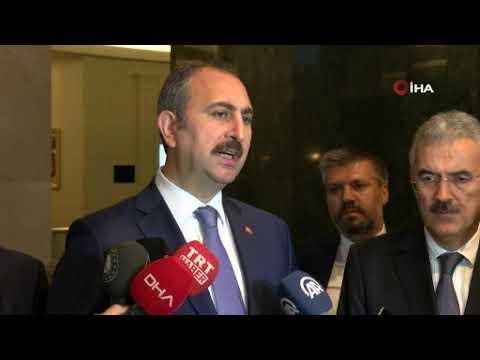 """Adalet Bakanı Gül: """"Halkbank'la ilgili açılan davanın hukuki olmaktan ziyade siyasi olduğu açıktır"""""""