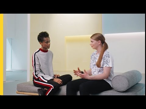 Letitia Wright Meets Hannah | Shell Eco-marathon | #makethefuture