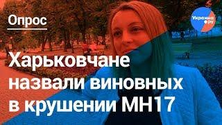 Говорит Харьков: кто виновен в крушении MH17 на Донбассе?