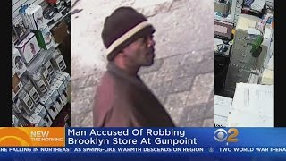Man Allegedly Robs Brooklyn Store At Gunpoint