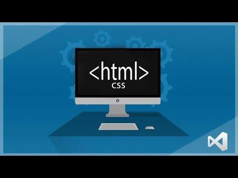 Visual Studio 2019   Getting Started Web Design    HTML & CSS