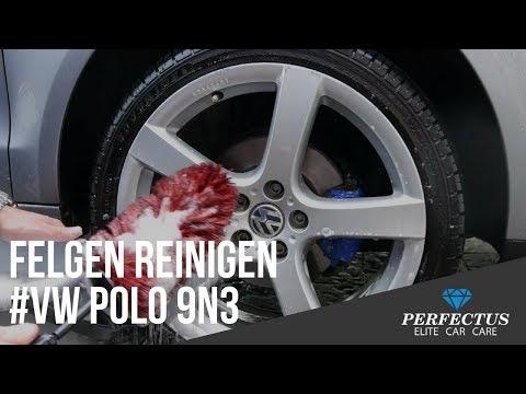 Felgen reinigen für Profis #VW Polo 9N3