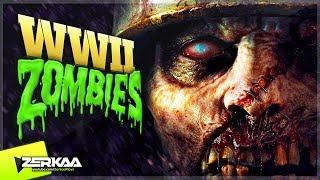 WW2 TYPE ZOMBIES MAP! (Black Ops 3 Custom Zombies)