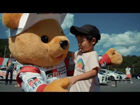 08 2019 WEC Fuji Sunday Gazoo Racing bear