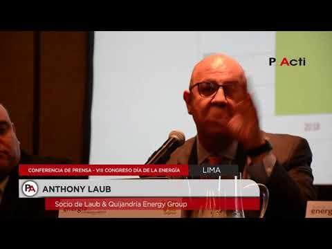 Conferencia de prensa con motivo del VIII Congreso del Día de la Energía