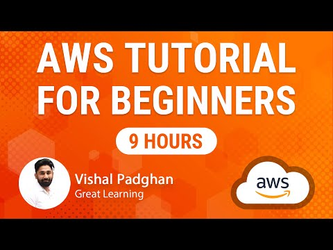 AWS Tutorial For Beginners | AWS Full Course In 9 Hours | Cloud Computing | Great Learning