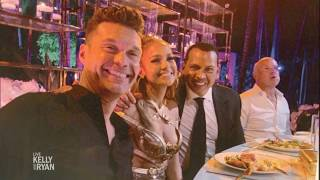 Ryan Went To Jennifer Lopezs 50th Birthday Party
