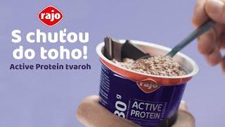 Active Protein tvaroh - S chuťou do toho!