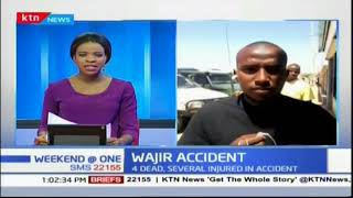 4 People killed after bus rammed into a stalled lorry in Wajir
