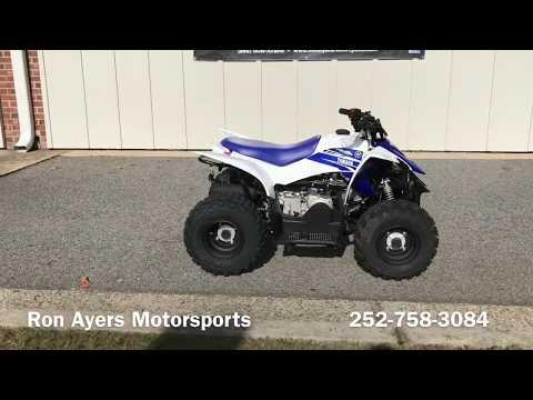 2018 Yamaha YFZ50 in Greenville, North Carolina - Video 1
