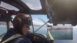 ANZAC DAY Full Cessna Bird Dog Flyover FROM THE COCKPIT