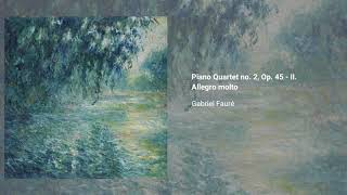 Piano Quartet no. 2, Op. 45