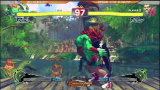 preview picture of video 'SSF4AE: Bubbles [Blanka] vs Steve USD Champ [Balrog] Race to 5'