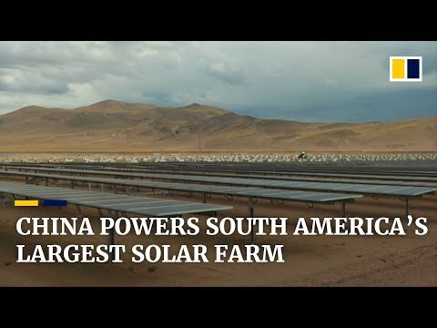 South America's largest solar farm backed by Chinese tech and money (видео)