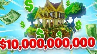 10 BILLION TO SPEND! - Minecraft SKYBLOCK #24 (Season 1)