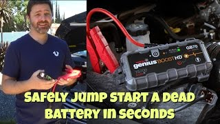 NOCO Genius Boost GB40 UltraSafe Lithium Jump Starter Demo and Review