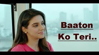 Baaton Ko Teri: Arijit Singh | Lyrics Translation | Hindi Song | Himesh Reshammiya | Bollywood Songs