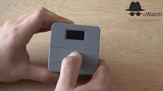 Video 5<br/>uWatch Cube: How to Switch on