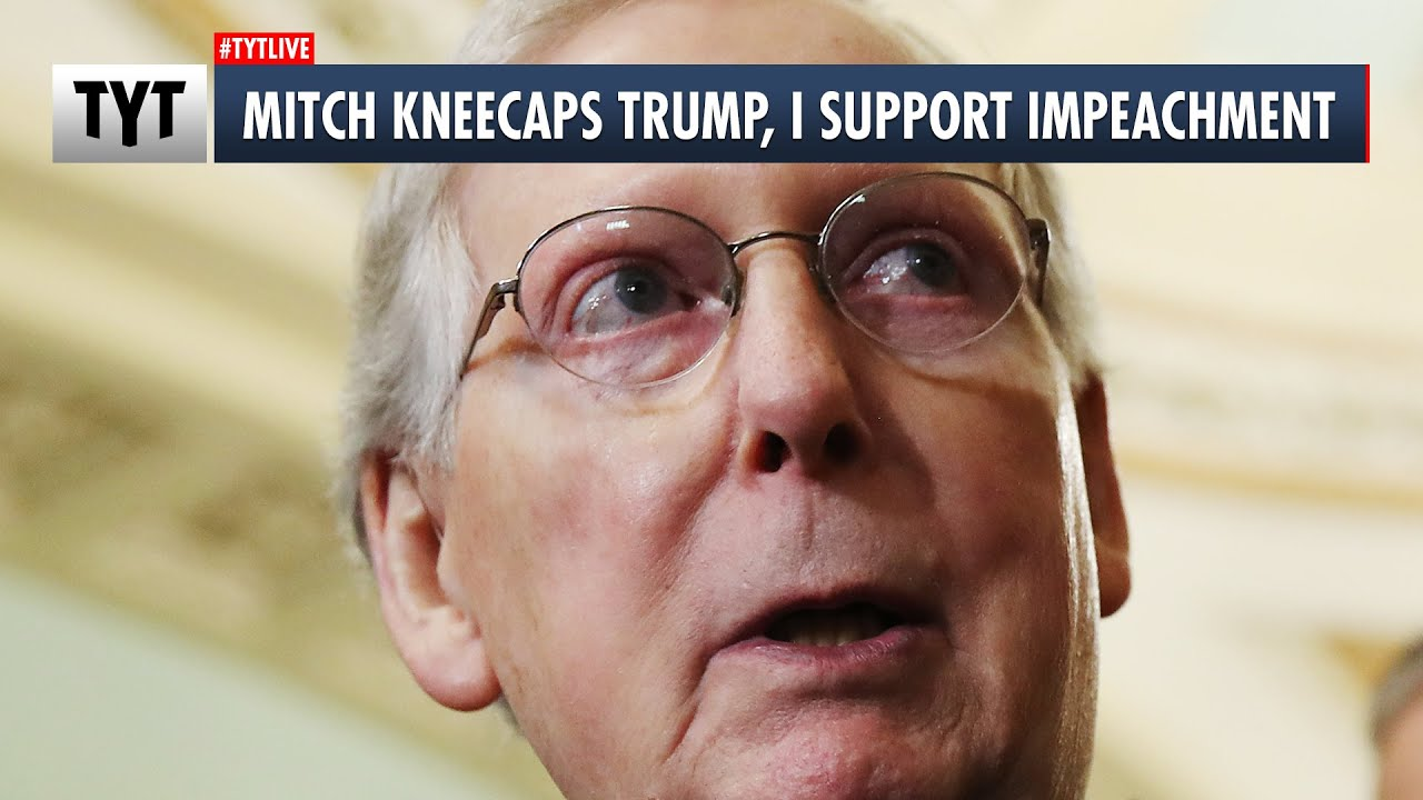Mitch McConnell: I'm Open To Impeaching Trump for Inciting US Capitol Attack thumbnail