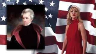 Patriotic lady Can Name Every U.S. President in Under 60 Seconds!