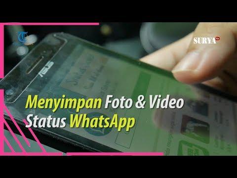 CARA MENYIMPAN FOTO DAN VIDEO STATUS WHATSAPP