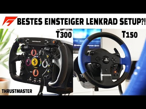 BESTES EINSTEIGER LENKRAD SETUP FÜR F1 GAMES!? | PS4 REVIEW Deutsch/German