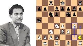 Mikhail Tal's Pac-Man Pawn