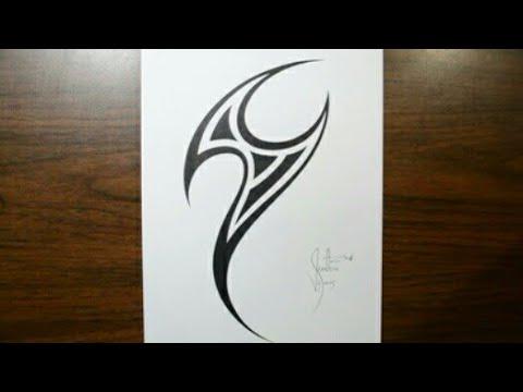 Easy And Simple Tattoo With Pen смотреть онлайн на Hahlife
