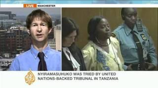 Rwandan woman sentenced for genocide