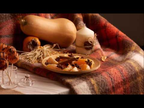 Décoration Halloween - Buffet automne
