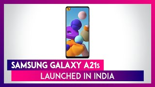 Samsung Galaxy A21s With A 5,000mAh Battery Launched In India; Prices, Features, Variants & Specs