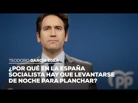 ¿Por qué en la España socialista hay que levantarse de noche para planchar?