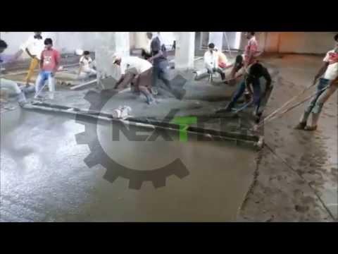 Double Beam Concrete Screed Vibrator