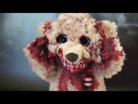 絕對兒童不宜!血腥恐怖的「殭屍泰迪熊」2.0