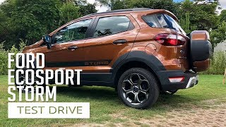 Ford Ecosport Storm - Test Drive