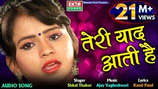 Shital Thakor || Teri Yaad Aati Hai || New Audio Love Song || Ekta Sound