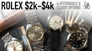 The Best Entry Level Rolex Watches - 4 Classy Options To Last A Lifetime - $2000 to $4000 (WWT#85)