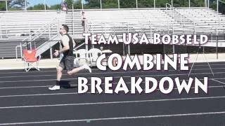 Team USA Bobsled Combine Breakdown