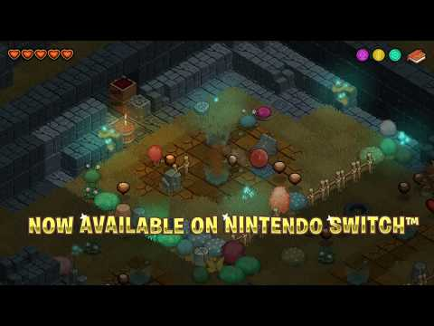 Red's Kingdom on Nintendo Switch (game-play trailer). thumbnail
