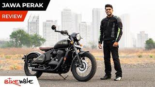 2021 Jawa Perak Review | Most Affordable Bobber Motorcycle in India | BikeWale