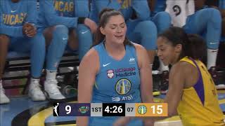 Los Angeles Sparks-Chicago Sky. 16-08-19.