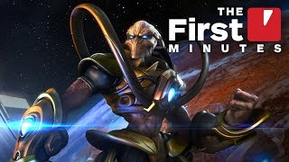 The First 17 Minutes of Starcraft Remastered