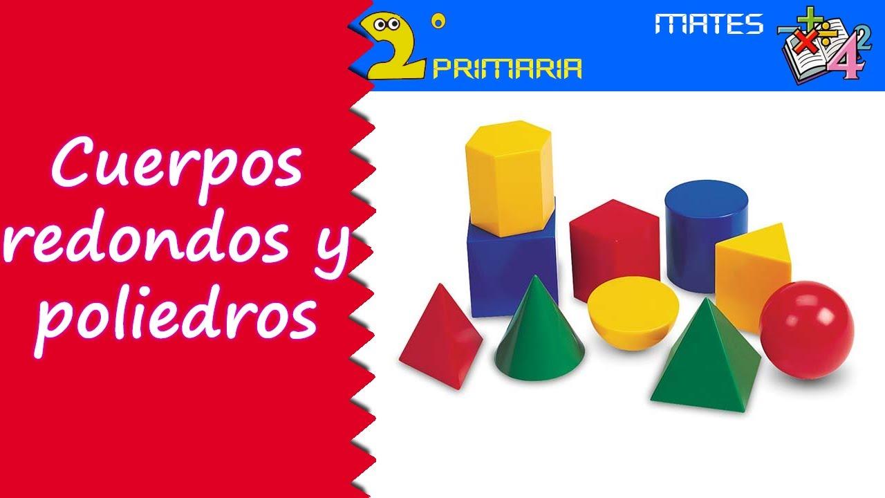 Matemáticas. 2º Primaria. Tema 1. Cuerpos geométricos redondos y poliedros