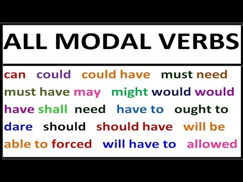 Download All modal verbs in English. Grammar lessosn with examples for Beginners, Intermediate FULL COURSE Mp4 HD Video and MP3